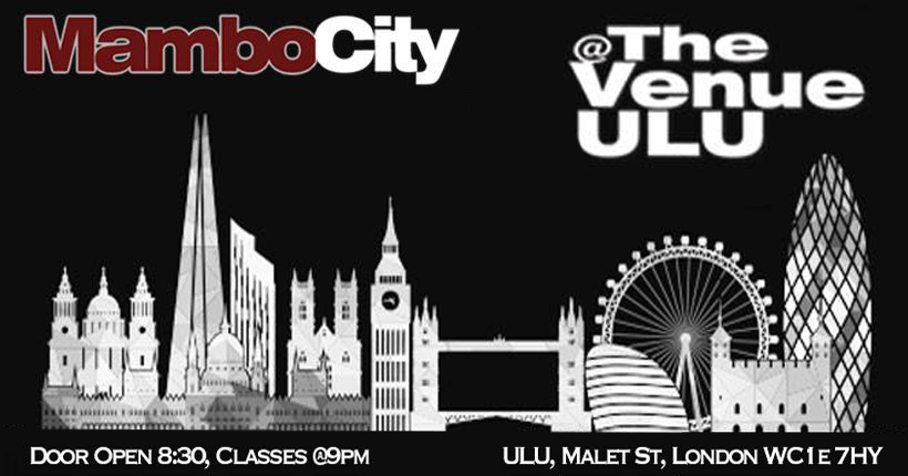 Cover image for Mambo City's Ulu, London